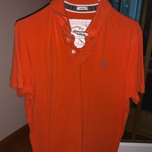 Abercrombie & Fitch muscle polo shirt